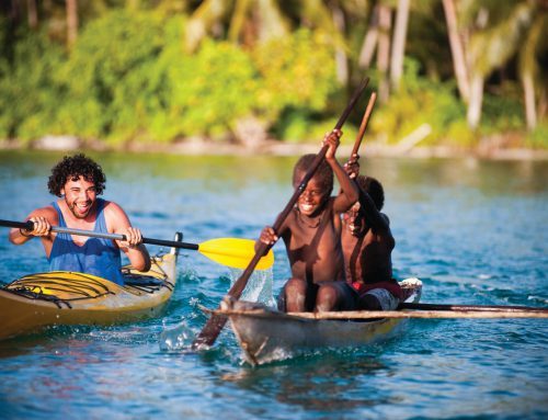 Kayaking in Papua New Guinea